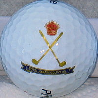 63 Royal Harare Golf Ball - click to return